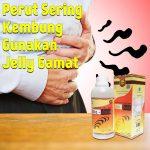 Perut Sering Kembung Gunakan Jelly Gamat