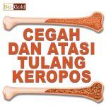 Jauhi Penyakit Osteoporosis Dengan Bio Gold