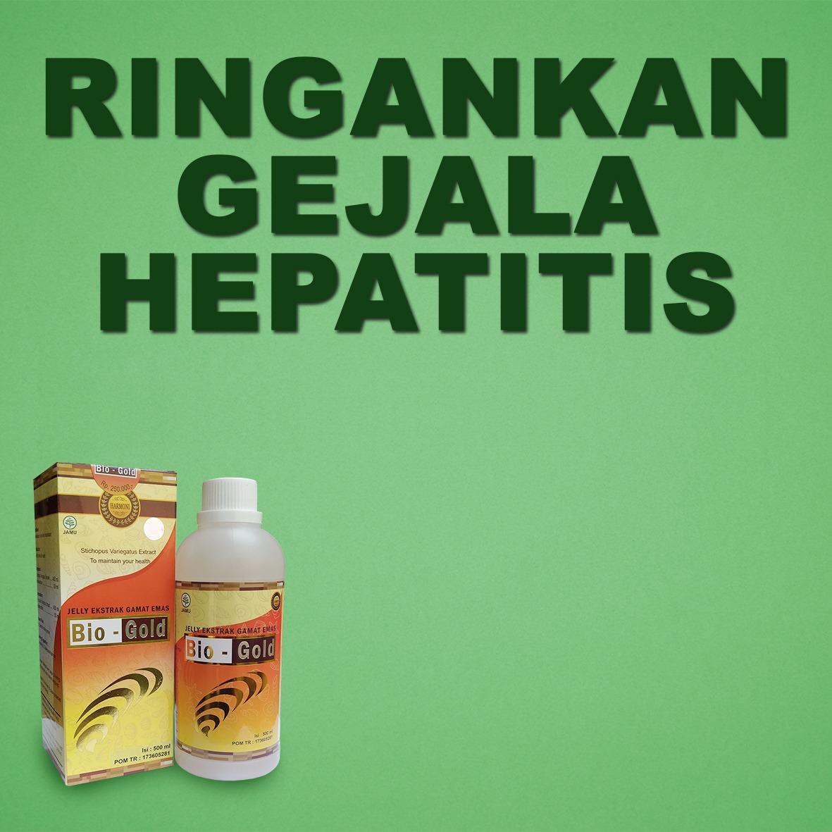 Jelly Gamat Dapat Mengurangi Gejala Hepatitis Ringan