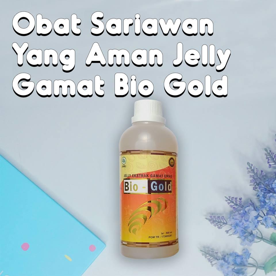 Obat Sariawan Yang Aman Jelly Gamat Bio Gold