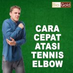 Olahraga Tennis Bahaya Cidera Tennis Elbow Jelly Gamat