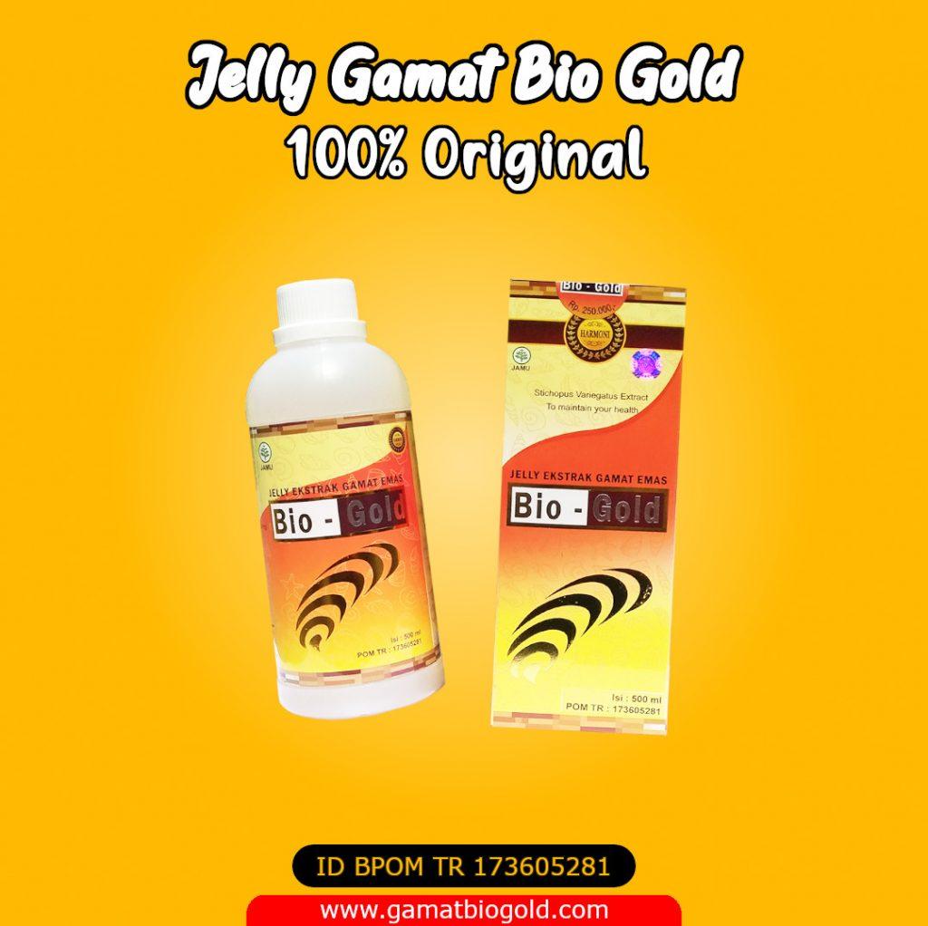 Jelly Gamat Bio Gold Asli