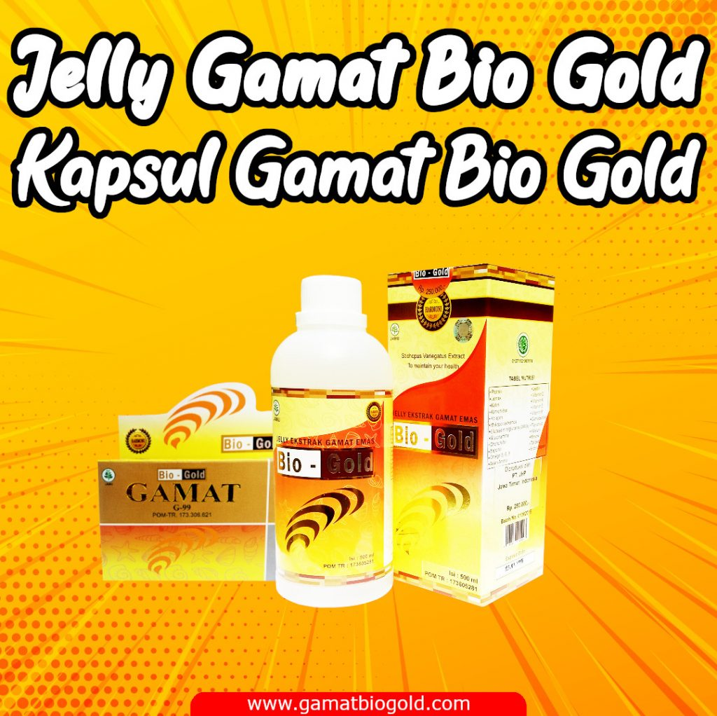 Jelly Gamat Bio Gold & Kapsul Gamat