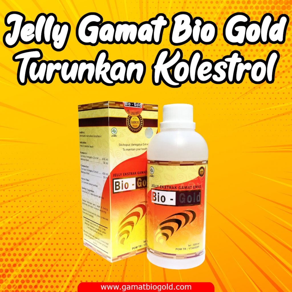 Cara Menurunkan Kolestrol Tubuh Jelly Gamat Bio Gold
